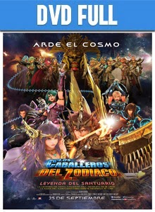Saint Seiya Legend of Sanctuary DVD Full Latino 2014