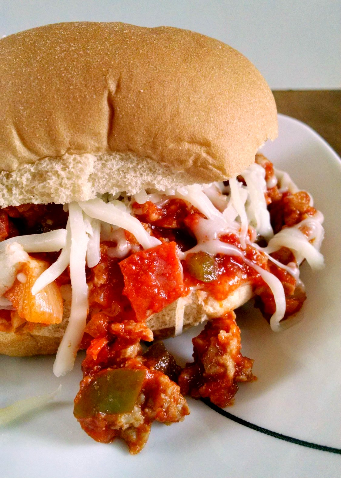 A Kitchen Hoor's Adventures | Supreme Pizza Sloppy Joes