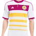 Adidas apresenta o novo uniforme reserva da Escócia