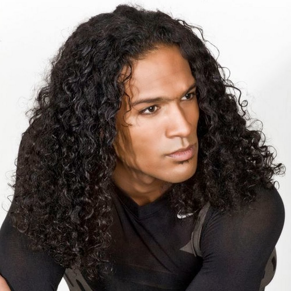 Hairstyles For Long Hair Black Guys : Curly Hairstyles for Men Trendy Mens Hairstyles 2016