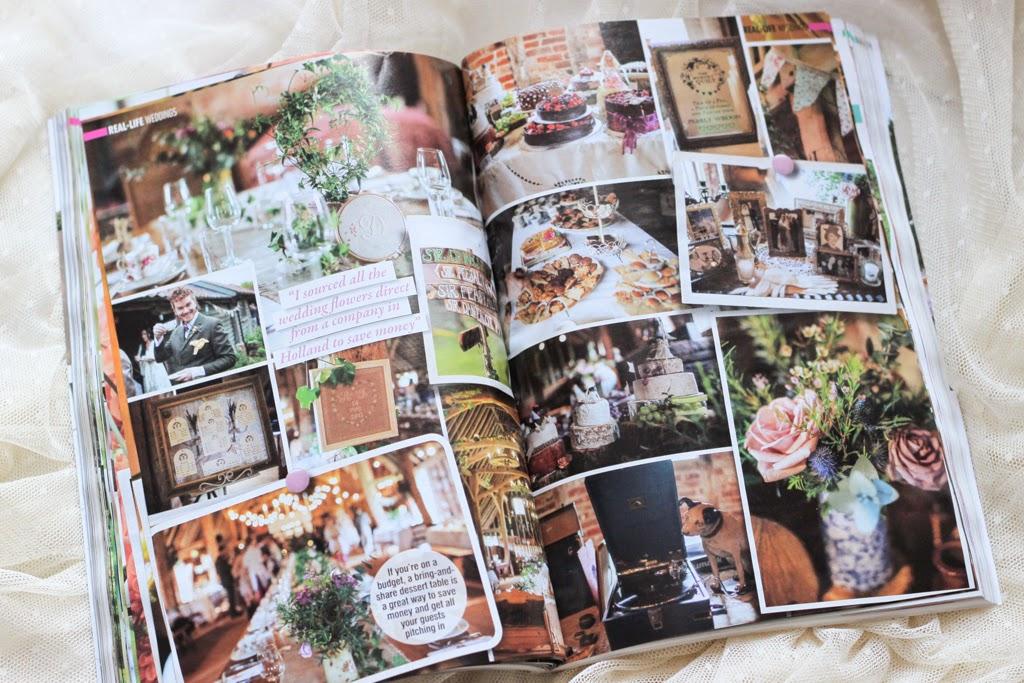 Wedding ideas magazine feature