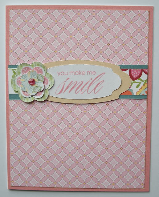Close To My Heart Chantilly paper packet with Hooray Bouquet stamp set