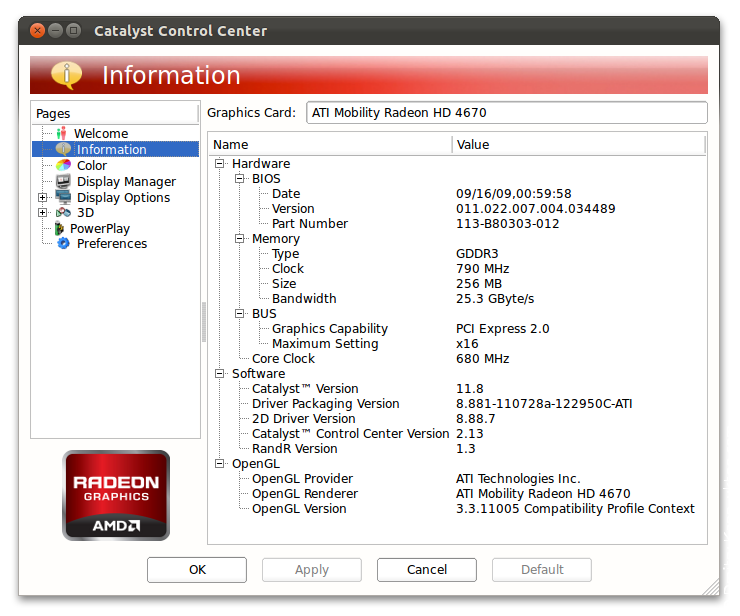 AMD/ATI drivers for mobility / notebook graphics and ...