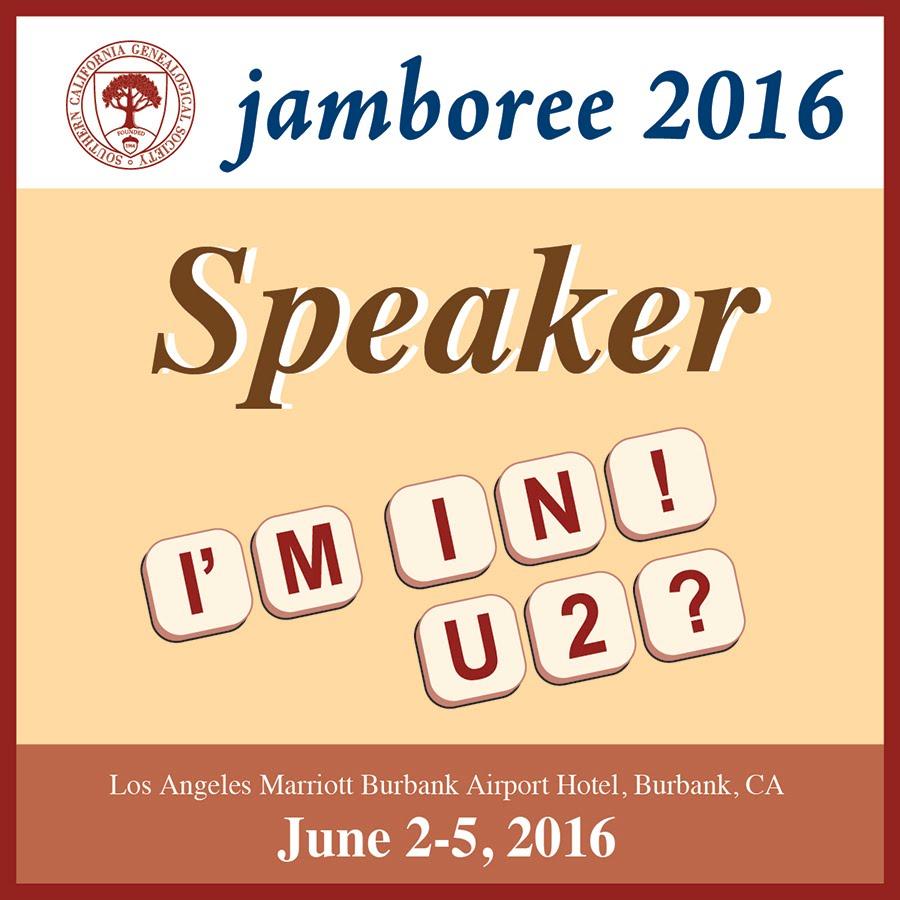 Jamboree 2016:  I'm in! U 2?