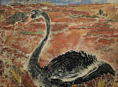Moor Swan [1933] by Morris Graves