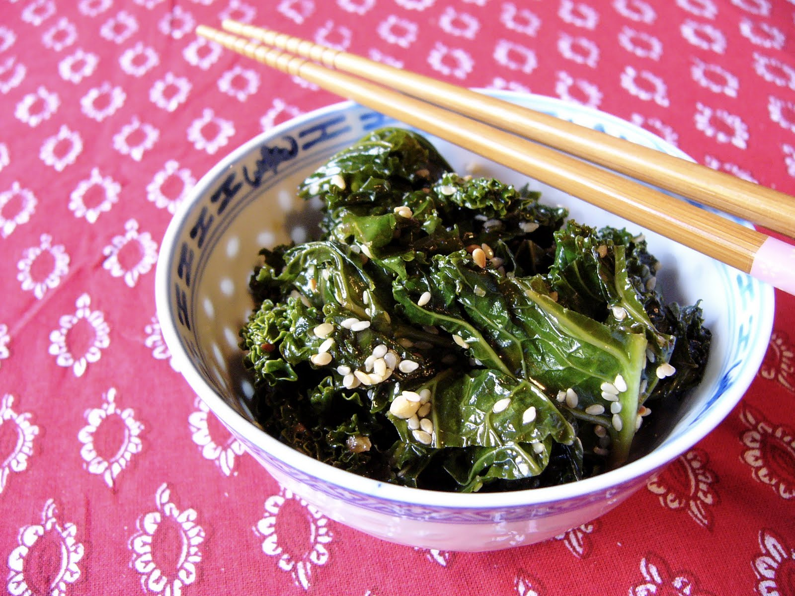 ... More Wooden Spoons: Please welcome to the stage: Sesame Kale Salad