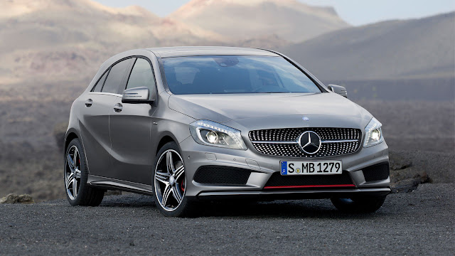 The Mercedes-Benz A-Class front