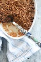 Karina's gluten-free apple crisp with quinoa flakes.