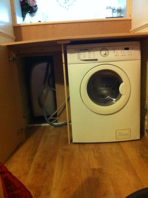 Tj Richomme Carpenters Ltd Cupboard To Hide Washing