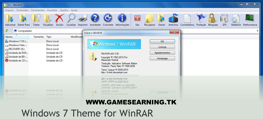 Crack Winrar 64 Bits Windows 7 - fangeloadcom