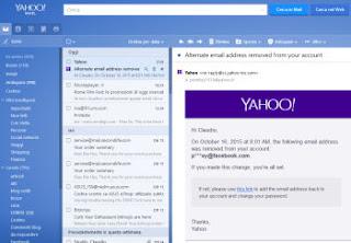 yahoo mail con notifiche