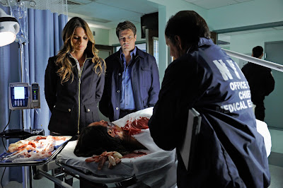 Castle S05E20. The Fast And The Furriest