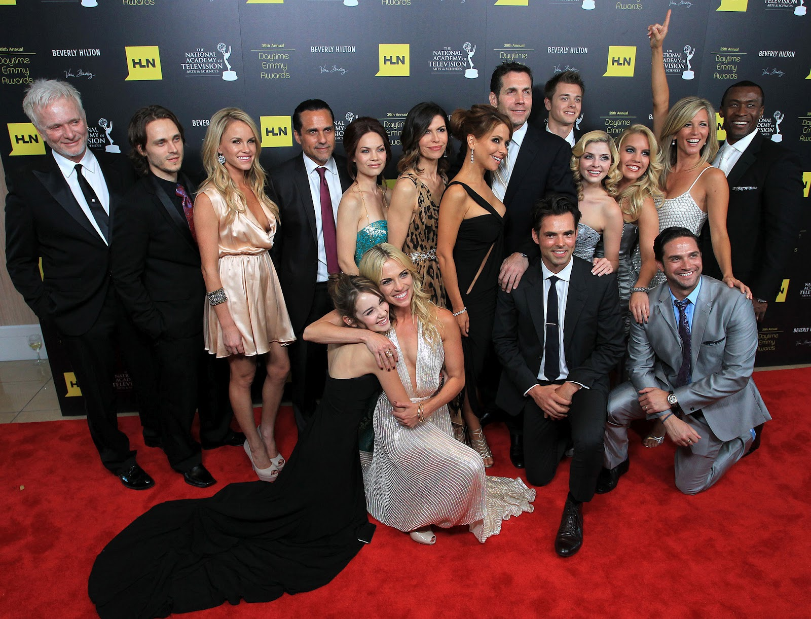 General Hospital Cast at the Daytime Emmys
