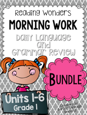 https://www.teacherspayteachers.com/Product/Morning-Work-Language-and-Grammar-Review-Growing-Bundle-Grade-1-2200741