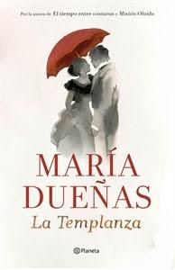 Ranking semanal. Número 6: La Templanza, de Maria Dueñas.
