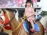 Horse Riding Jenis permainan di kampung gajah bandung