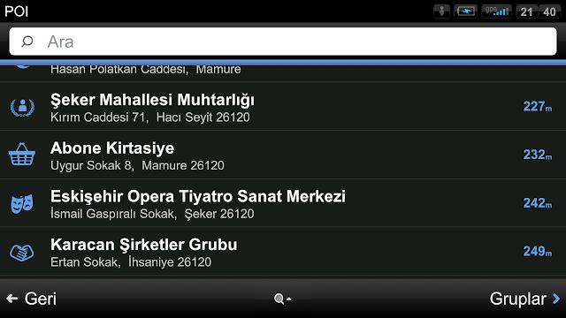 Sygic Navigation Türkçe Android