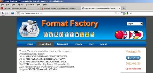comment fonctionne format factory