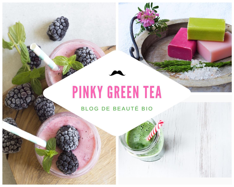 Pinky green tea