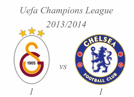 Galatasaray vs Chelsea Result Uefa Champions League 2014