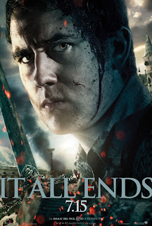 "Harry Potter and the Deathly Hallows: Part 2 ""It All Ends"" Portrait Movie Poster Set - Matthew Lewis as Neville Longbottom"