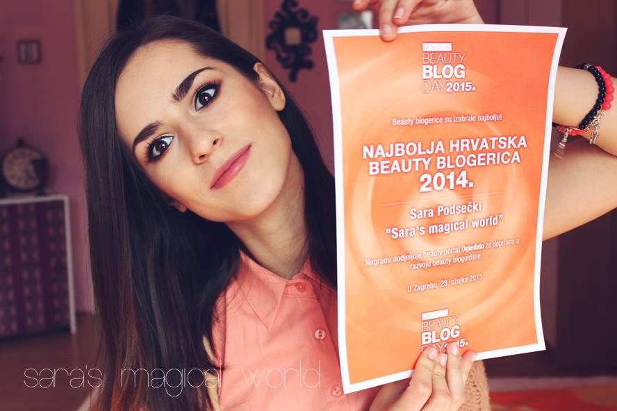 Najbolja hrvatska beauty blogerica 2014.