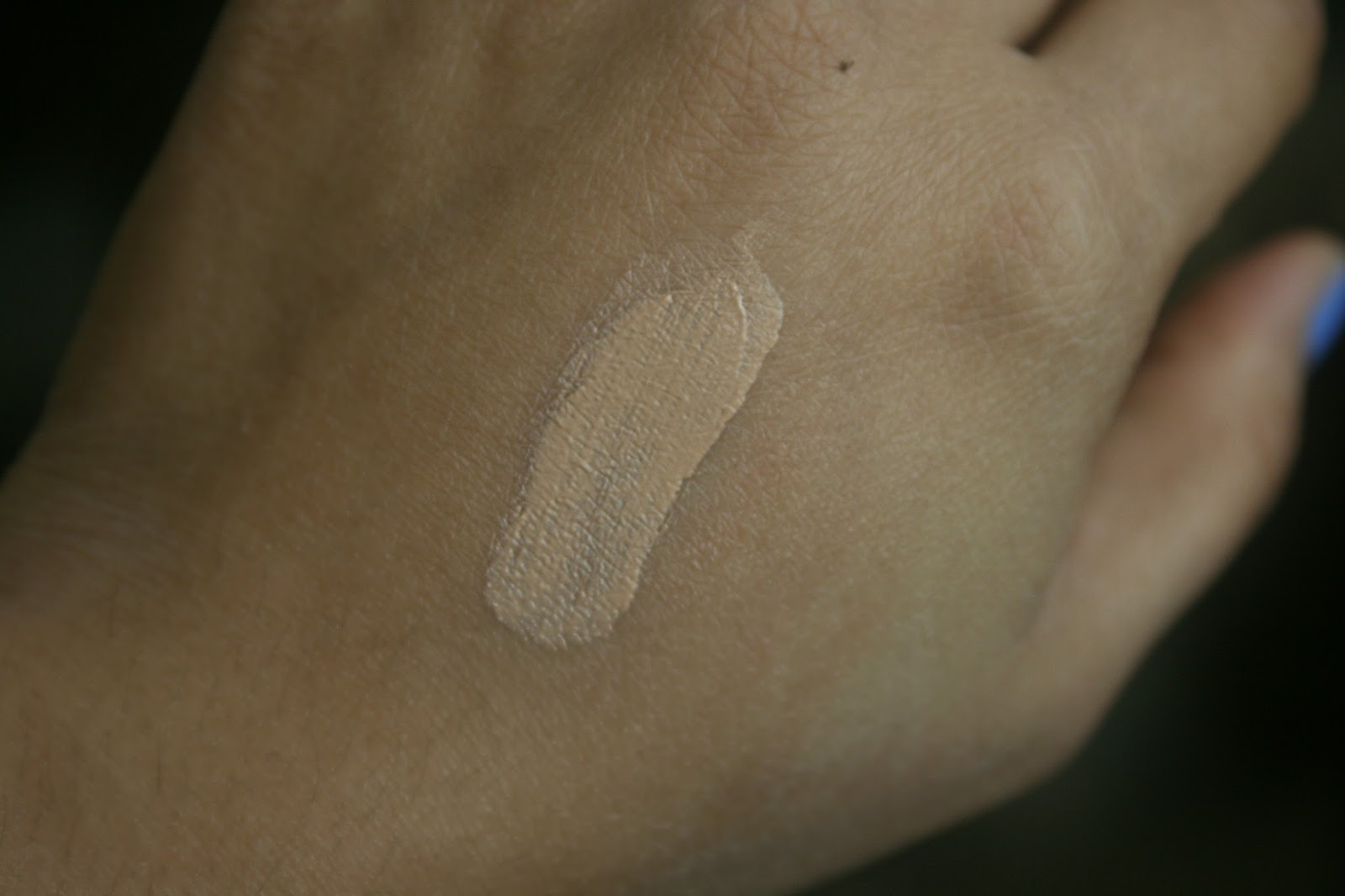 bareMinerals Smoothing Face Brush and Complexion Rescue in Ginger Swatch