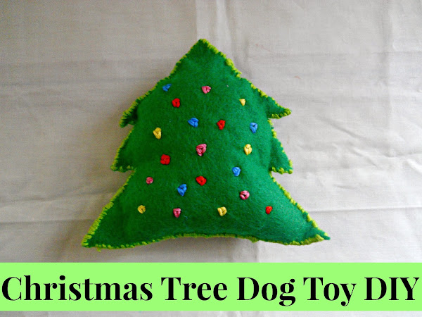 Christmas Tree Dog Toy DIY