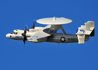 US Navy E-2 Hawkeye
