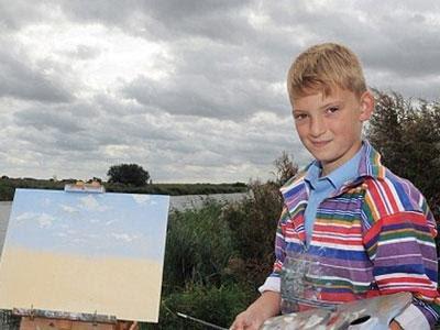 Bocah 10 Tahun Jadi Milyarder Lewat Lukisan