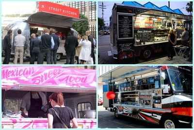 Ăn vặt trên... xe tải ở London, ẩm thực, khám phá ẩm thực, ẩm thực đó đây, am thuc du lich, diem an uong ngon