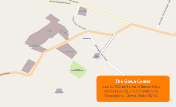 Peta The Gowa Center
