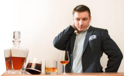 Tomasz Miler i whisky