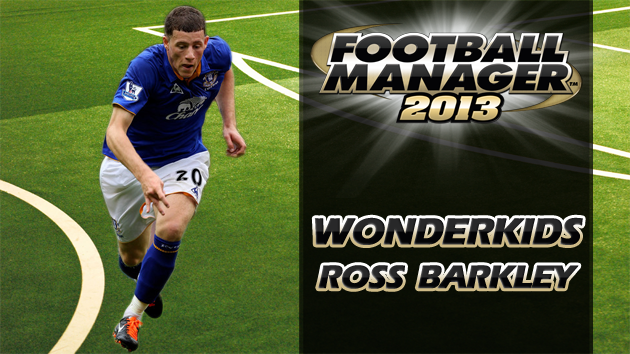 Football Manager 2013 Wonderkid Ross Barkley