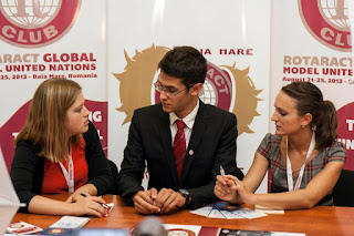 rotaract mun debating united nations youth delegation baia mare romania simulation