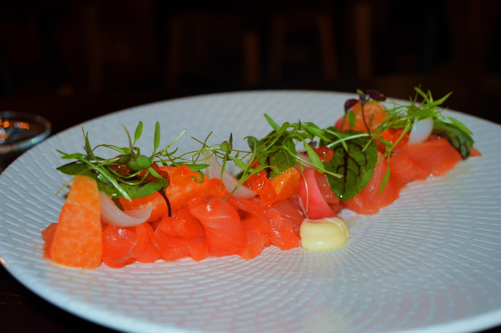 Christmas in july new winter menu launches at flaming for Winter entrees