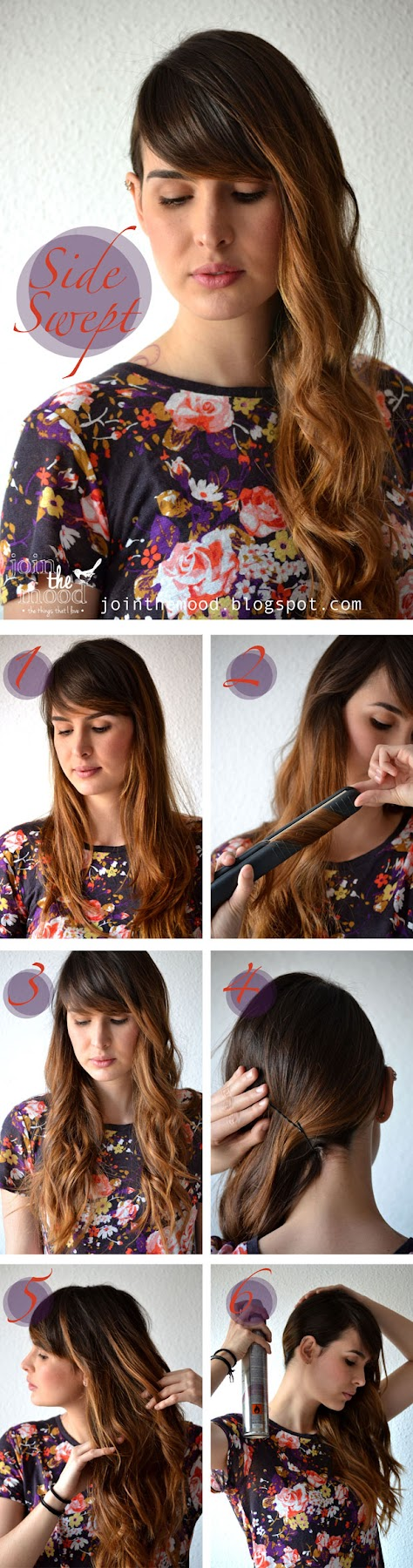 Make a Side Swept Hairstyle