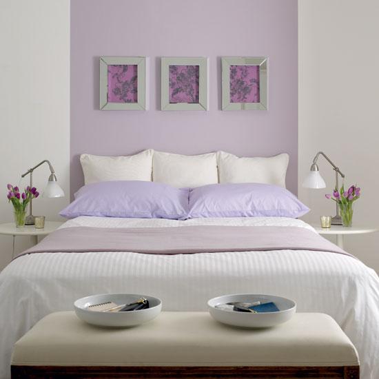 Imbiancare casa idee abbinamento colori idee per imbiancare la parete con due o pi colori - Parete grigia camera da letto ...