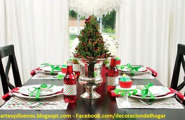 Como Decorar La Mesa Para Navidad Decoracin Del Hogar Prosalocom