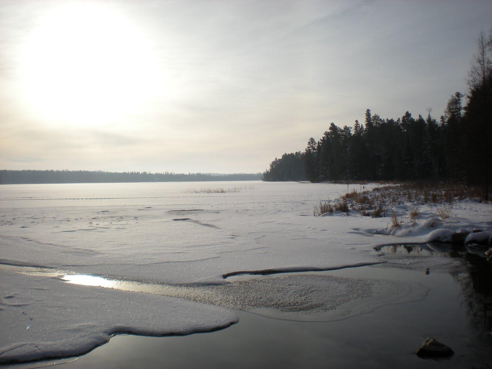 Minnesota Camping: Itasca State Park, December 2010