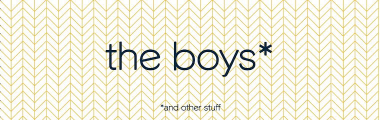 the boys *and other stuff