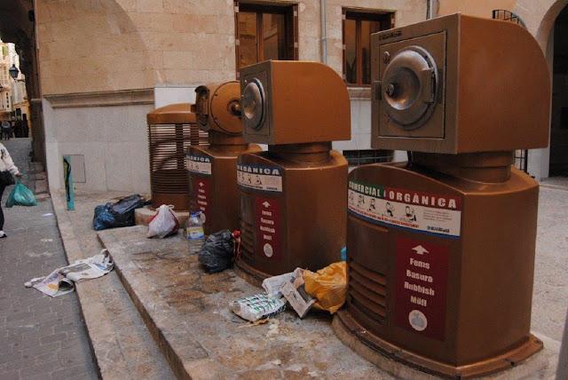Reciclaje subterráneo Palma