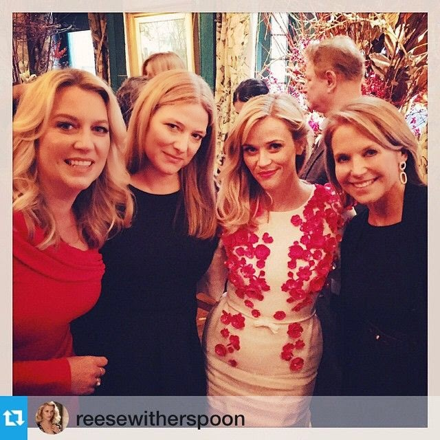"""Last night with honoree Hilary Gumbel who has done so much for @unicef! Big congrats for a well-deserved honor! #snowflakeball,"" Katie COuric captioned her Instagram image on Wednesday, November 3, 2014."