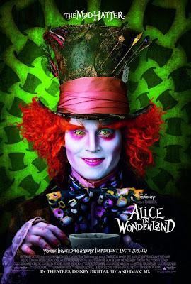 Watch Alice in Wonderland 2010 BRRip Hollywood Movie Online | Alice in Wonderland 2010 Hollywood Movie Poster