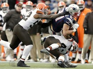 New England Patriots Rob Gronkowski