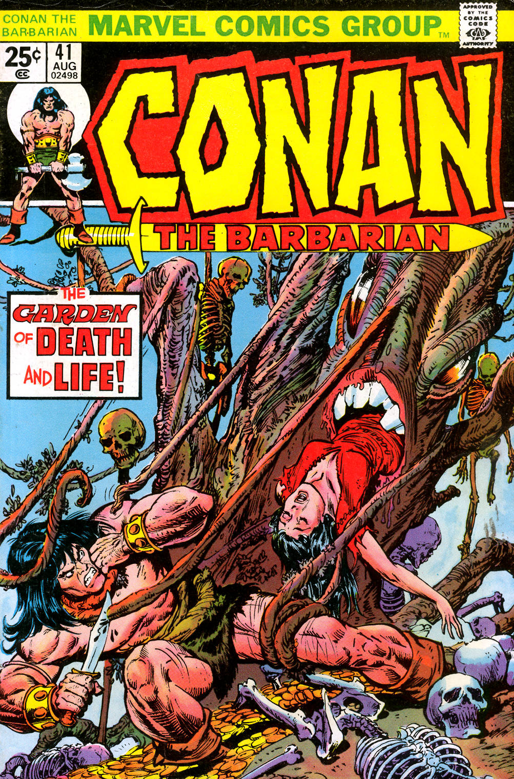 Conan the Barbarian (1970) 41 Page 1