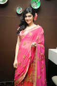Adah Sharma Gorgeous in Pink Saree-thumbnail-1