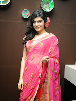 Adah Sharma Gorgeous in Pink Saree-cover-photo