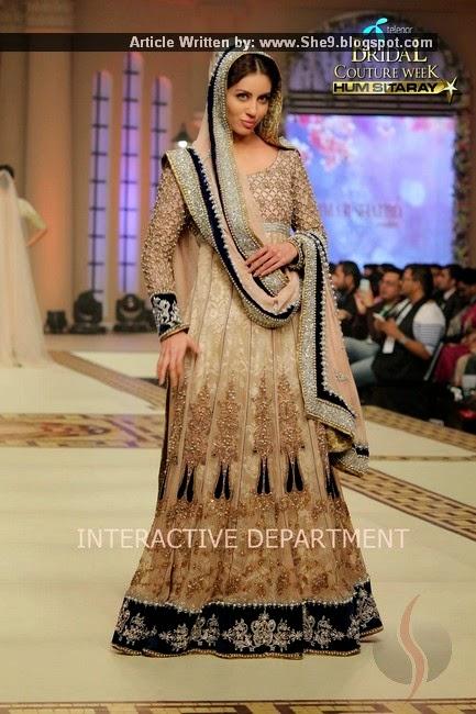 Designer Ammar Shahid Couture at Bridal Fashion Show