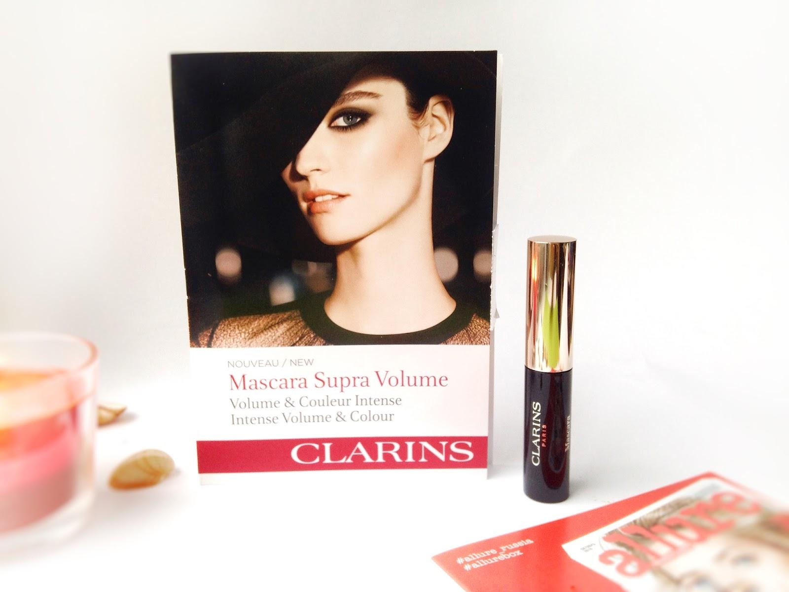Тушь для ресниц clarins mascara supra volume